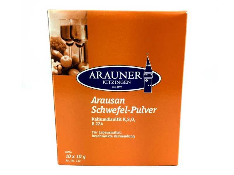 Pyrol-Pulver Weinlabor Kaliumpyrosulfit 5 x 10g Schwefel Pulver