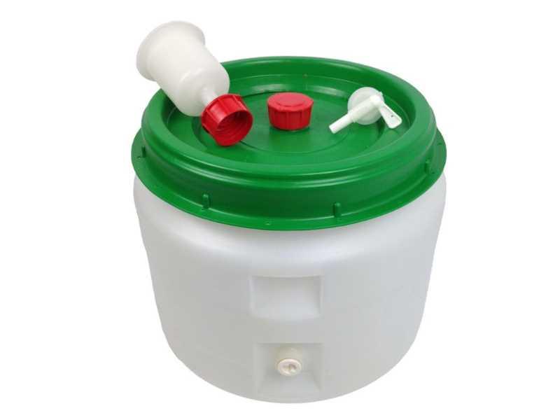Gärfass Maischefass 30 Liter komplett hier kaufen! ~ Spülbecken Liter